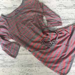 Girls Old Navy 3/4 sleeve tee shirt dress